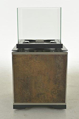 Pelmondo Fire Cube Art Outdoor Fire Pit (Bronze (Patina Outdoor Fire Pit)
