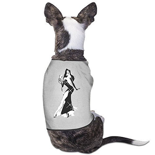 Tambourine Dress Costume (Funny Jessica Rabbit Pet Dog T Shirt.)