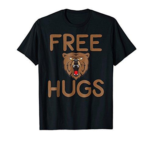 Funny Free Bear-Hug T-Shirt from Angry Bear Threads