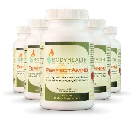PerfectAmino, 6 Pack, All 8 Essential Amino Acids with 99% utilization