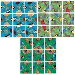 Solve Scramble Squares (Nasco Scramble Squares Set #2 - SN36164)