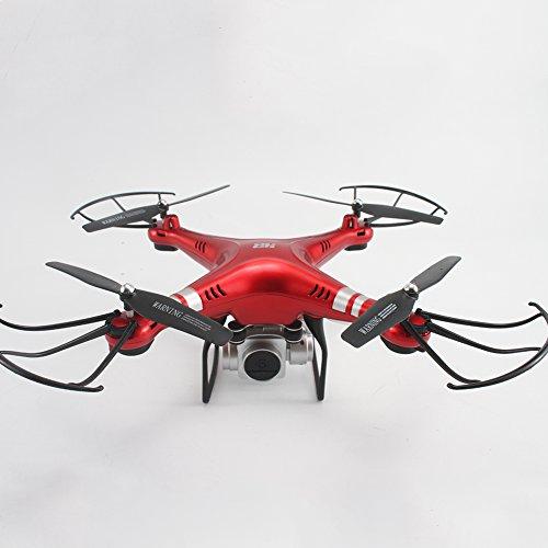 Drone Y Cámara Cámara Ajustable De 270 °Con Cámara Plana Plana Del Avión 1080P Teledirigida, Cámara Aérea Con Presión Ajustable,Red