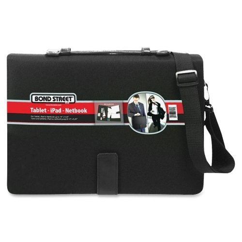 BND465600BLK - Bond Street Carrying Case (Sleeve) for 14 Tablet PC, iPad, Netbook - (Bond Street Notebook)