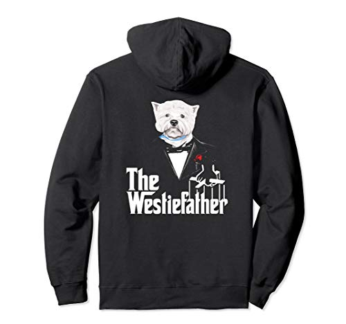 (The Westie Father Dog Hoodie for Woman)