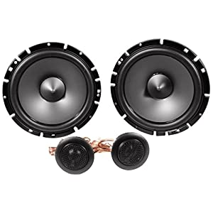 "Alpine SPS-610 6.5-Inch 2-Way Type-S Series Coaxial Car Speakers with Alpine SPS-610C 6-1/2"" Component 2-Way Type-S Speaker Metra 72-4568 Speaker Harness for Select Buick and Chevy 2015 GM Vehicles"