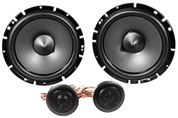 """Alpine Sps-610 6.5-inch 2-way Type-s Series Coaxial Car Speakers With Alpine Sps-610c 6-12"""" Component 2-way Type-s Speaker Metra 72-4568 Speaker Harness For Select Buick & Chevy 2015 Gm Vehicles 2"""