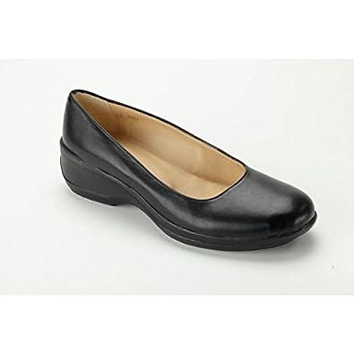 75a202e02a1a Nordways - CAROLINE chaussure de service Ballerines cuir basse ...