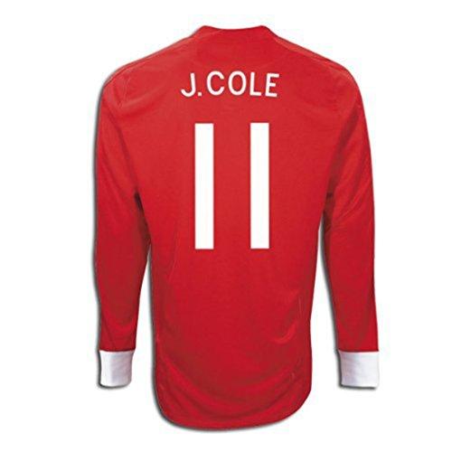 無限大翻訳者三Umbro J. COLE #11 England Away Jersey Long Sleeve/サッカーユニフォーム イギリス アウェイ用 長袖 背番号11 J.コール