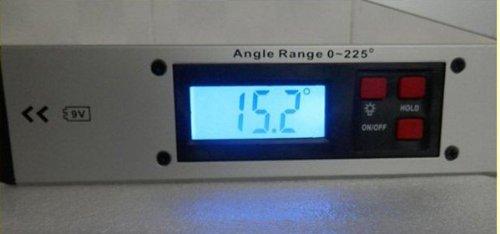 400mm Digital Angle Finder Meter Protractor Spirit Level Sk99g