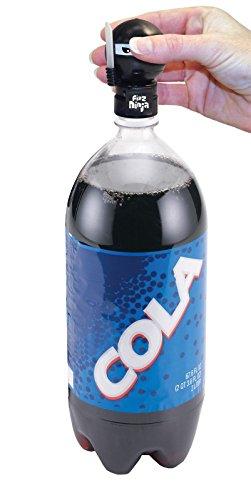 Jokari Fizz Ninja Keeper Soda Pop Bottle Pump & Pour Top - Fits 1, 1.5 & 2 L