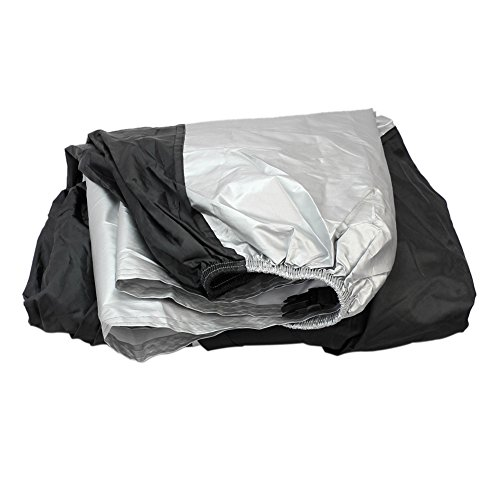 Refaxi Motorcycle Motor Bike Scooter Waterproof Snow Sun Protector Rain Cover Size S (Motorcycle Cover Weatherall Plus)