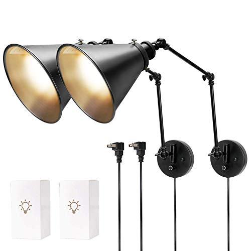 Sconces Included JACKYLED Dimmable Industrial