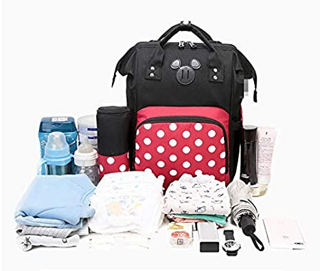 Camo Cheap Designer Disney Elephant Pram Beach Floral Grey Pink Grey//Black Dark Grey Babymel Bolso Momia Mujer Moda Salida Hombro Multifunci/ón Gran Capacidad S1