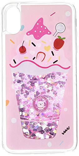 KampoStore Compatible with iPhone XR Glitter Bling Ice Cream Case Cover Anti-Scratch Shock Absorption Cover Case for The iPhone XR ()