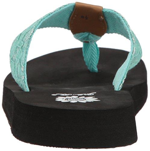 Amina Women's Sandal Box Mint Yellow x86wTqHWFn