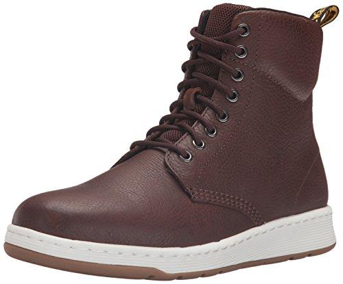 Dr. Martens Men's Rigal Fashion Sneaker, Tan, 7 UK/8 M US