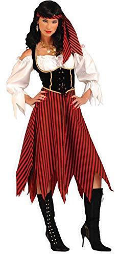 Maiden Halloween Costumes (Forum Novelties Women's Costume, Multi Colored,)