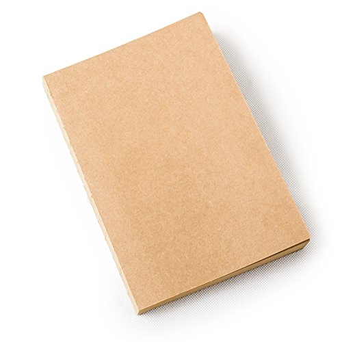 Ancicraft A5 Refills Lined Craft Paper for Refillable Leather Journal Diary Notebook Cover ()