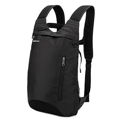 Laptop Backpack, SymbolLife Slim Lightweight Water-Resistant Multipurpose Shoulder Notebook Bag for up to 14 Inch Laptop Notebooks, Tablets Black - other