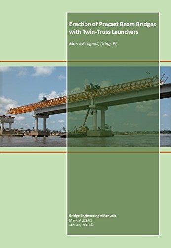 Erection of Precast Beam Bridges with Twin-Truss Launchers