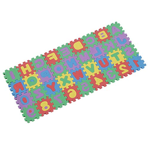 Mat Mat - Mini Sized Educational Colorful Foam Alphabet Number Interlocking Puzzle Mat - Exercise Saver Board Roll 3000 Grappling Table Gray Grateful Martial Velvet Sorter Puzzles Jigsaw I