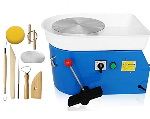 PROMOTOR Pottery Forming Machine 25CM//9.8 Table Top Pottery Wheel Ceramics Clay Tool
