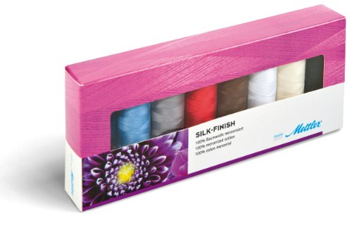 Finishes 105 (Silk Finish Art.105 Thread Set 1 each 8 colors)
