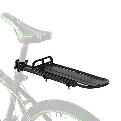Lixada Retractable Aluminum Alloy Bike Mount Bicycle Rear Seat Post Rack Bicycle Pannier Luggage Cargo Carrier Rack