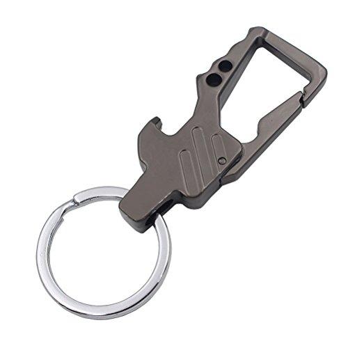 Liangery Mens Bottle Opener Keychain for Keys Mental Key Cha