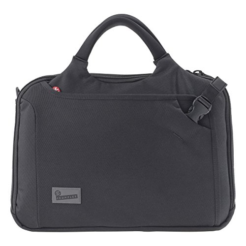 Crumpler Men's The Dry Red 7 Briefcase 9 L Black