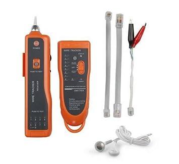 Buscador de Red Ethernet LAN Cable Tester Detector de Línea Telefónica perseguidor del alambre RJ11 RJ45