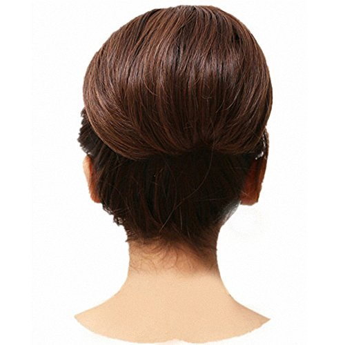 Wedding Hairstyle Near Me: FESHFEN Bridal Hair Bun Updo Scrunchy Scrunchie Hairpiece