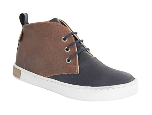 MOVE Desert Sneaker Jungen - Zapatilla Alta Niños Marrón - Braun (Medium Brown475)