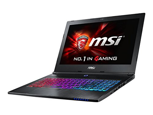 "MSI GS60 Ghost Pro-002 15.6"" Slim Gaming Laptop GTX 970M i7-6700HQ 16GB 128GB SSD + 1TB WIN 10 Thunderbolt Steel Series Keyboard"