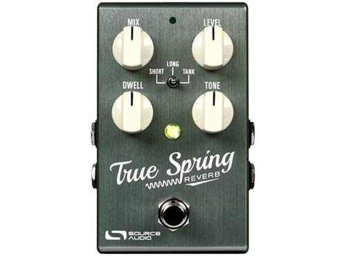- Source Audio True Spring Reverb w/Favorite Switch Pedal