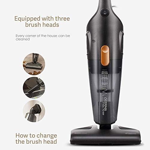 SMLZV Bâton Aspirateur, Handheld ménagers vertical Aspirateur, 2 en 1 Mop & Vacuum14000Pa Puissance d\'aspiration, 1.2L Coupe poussière, for PLANCHERS Pet Hair Car