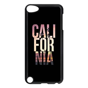 Fashion Protection California Beach Design Hard Cover Case For iPod Touch 5th Generation