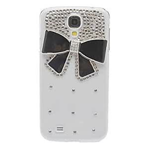 Bling Bling Style Elegant Bowknot Design Hard Case with Rhinestone for Samsung Galaxy S4 I9500