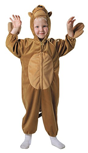 Boots Monkey Costumes (UHC Boy's Monkey Outfit Funny Theme Fancy Dress Toddler Halloween Costume, Toddler (3T-4T))