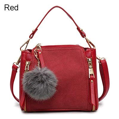 2d39711dfeba Amazon.com: Bags for Women 2018 Luxury Leather Ladies Handbag Female Zipper  Wallet Messenger Bag Suede Main: Kitchen & Dining