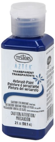 - Testors Airbrush Paint, Transparent Royal Blue