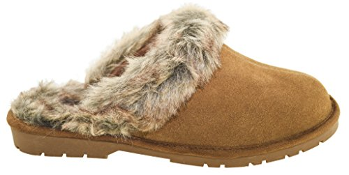 Slippers Chestnut Women's Suede 2 Sporto Jasmine 0fqInB