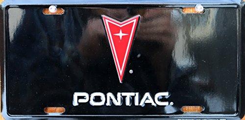 HangTime Pontiac embossed metal auto tag 6 x 12