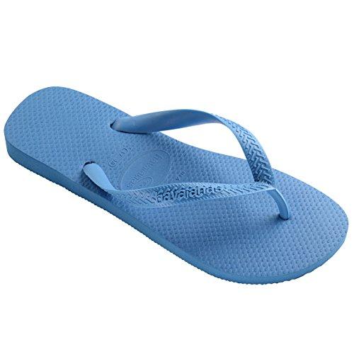 Mens Havianas Top Casual Rubber Slip On Open Toe Beach Thongs Flip Flops - Turquoise - 9