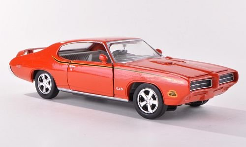 pontiac-gto-judge-orange-1969-model-car-ready-made-motormax-124