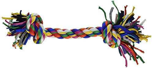 UPC 746772230060, Mammoth 14-Inch Cloth Rope with Bone, Large