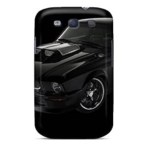First-class Case Cover For Galaxy S3 Dual Protection Cover Obsidian Stang
