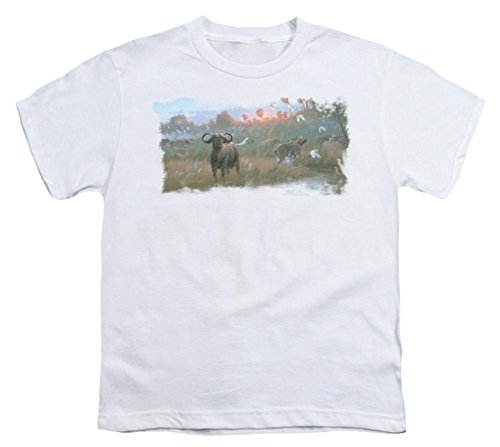 youth-wildlife-cape-buffalo-t-shirt-size-yl