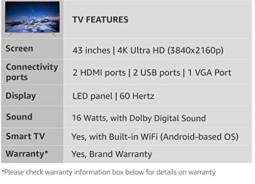 Reviews Summary + Pros/Cons - TCL 109 3 cm 43 inches 4K Ultra HD
