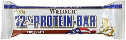 Weider 32% Protein Bar, Schoko, 4 x 60 g (1 x 240 g)